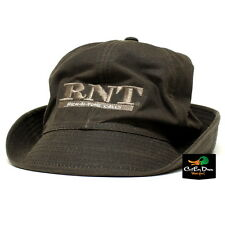 RNT RICH-N-TONE BROWN WAXED JONES CAP HAT WITH LOGO DUCK GOOSE CALLS