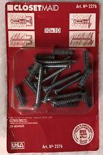 ClosetMaid #2276 Wall Anchors / Mounting Hardware (10+10 pieces)