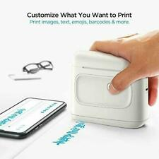 Selpic Handheld Mini Printer S1 Portable Inkjet Printer, Quick-Drying (white)