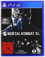 PS4 Spiel Mortal Kombat XL deutsche Version 100% Uncut  NEU