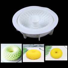 Silicone Mold Grid Baking Tray Cake Pan Decorate Tool Non-stick Bakeware Pas G4