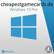 MS Windows 10 Professional Win 10 Pro DE 32 & 64 Bit OEM Product key per email