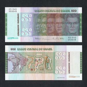 1972 BRAZIL 500 REAIS P-196Ab UNC> > > > > >150TH ANNIV BRAZIL INDEPENDENCE COMM