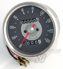 Smith Repro Kilometer Tacho speedometer km/h grey face BSA Triumph 60th W26675K