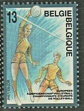 Belgique 1987 n°2260 Sport championnat d'Europe de volley
