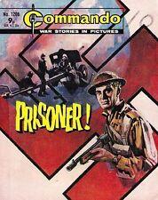 Commando For Action & Adventure Comic Book Magazine #1206 PRISONER!