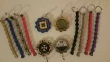 Narcotics Anonymous - NA Bike Chain Medallion Holder Key Ring- Color Chain