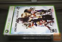 Dead or Alive 4 1st Print (Xbox 360 2005) FACTORY SEALED! - RARE! - EX!