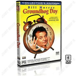 Groundhog Day DVD : Comedy Movie : Collectors Edition : Bill Murray : Brand New