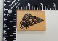 Gumbo Graphics Stampworks Seashell Rubber Stamp