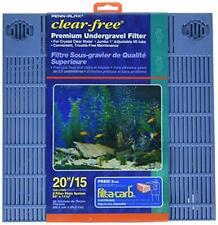 Penn Plax Premium Under Gravel Filter System for 20 Gallon Fish Tanks & Aquarium