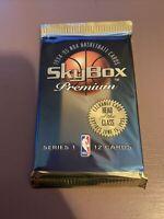 1994-95 Nba Basketball Cards - Skybox Premium Sealed Pack - Shaq, Rodman, Magic