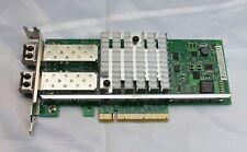 INTEL E10G42BFSRG1P5 10GB 2 PORT PCI-E LOW PROF SERVER ADAPTER ~ w/TRANSCVRS