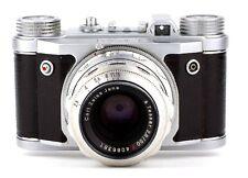 EHO ALTISSA 35mm camera ALTIX V with lens CARL ZEISS JENA TESSAR 2.8/50 Red T
