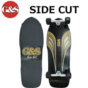 Gordon & Smith Skateboard G&S Complete reprint model the 70s and 80s Side cut