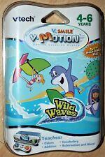 Vtech WILD WAVES cartridge. Brand NEW. Vsmile. Vmotion. NIP. 80-084280. Rare NR