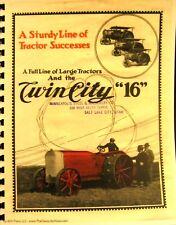 "1918-1919  Minneapolis-Moline Twin-City ""16 ""5""  71/2  Sales Manual"