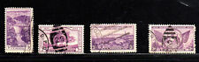 #772-775  4 STAMPS ISSUED 1935        FANCY CANCEL   USED     a