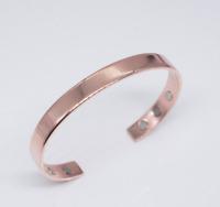 Unisex Magnetic Healing Bio Therapy Arthritis Pain Relief Bangle Copper Bracelet