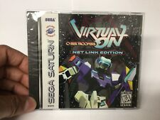 Virtual On: Cyber Troopers Netlink Edition (Sega Saturn, 1997) Brand New