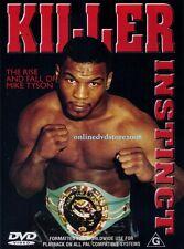 KILLER INSTINCT - The RISE & FALL of IRON MIKE TYSON Boxing Documentary Film DVD