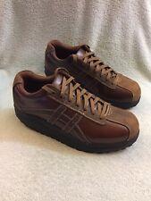 Skechers Shape Up Overhaul Brown Leather Toning Comfort Shoes 50877 Mens Sz 13 M