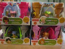 Fisher Price Little People Castle Pop Open 4 Pack Robin Hood Jester Queen Marian