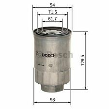 BOSCH Fuel Filter 1457434453 - Single