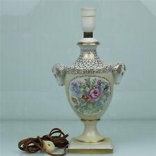 ALBOTH & Imperatore Porcellana Lampada da tavolo/Lampada con arieti teste (180128)