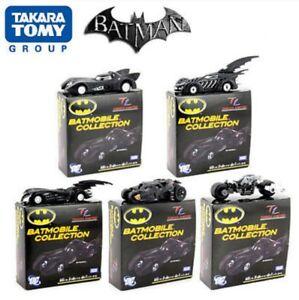 Tomica Takara Tomy BATMAN BATMOBILE COLLECTION SET Of 5 Car Diecast Model 1:48
