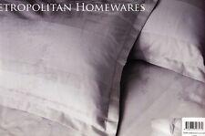 WAFFLE WEAVE Stripes Linen Beige QUEEN Poly-Cotton Quilt Doona Duvet Cover Set