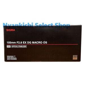 Sigma MACRO Lens MACRO 105mm F2.8 EX DG OS HSM for Nikon Digital SLR Camera New