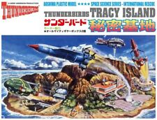 Thunderbirds Tracy Island Secret Space Rescue Model Kit Bausatz Aoshima 003527