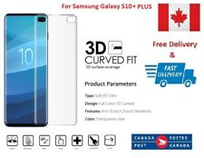 2 x Galaxy S10+ Full Screen Coverage Curved Samsung Protector S10+ Plus Film HD