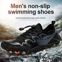 Men Non-slip Swimming Shoes Five-finger Barefoot Water Shoes Elastic Aqua Shoes