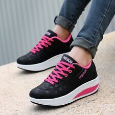 Sports Shoes Thick Casual Platform Shoes Running Walking Sneakers For Womens