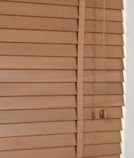 50mm a doghe legno duro Reale Veneziana 105cm di larghezza x 160cm in rovere con nastri
