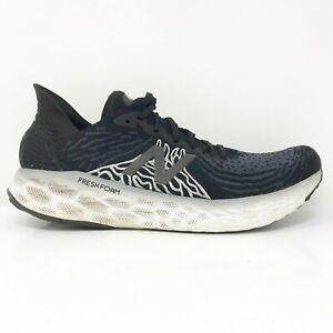 New Balance Mens Fresh Foam 1080 V10 M1080K10 Black Running Shoes Size 12 D