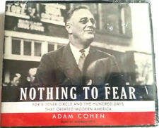 Nothing To Fear FDR'S Inner Circle And The Hundred Days Adam Cohen NEW SEALED CD