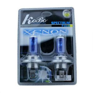2x H4 9003 HB2 Super White Xenon 12V 100W 5000K Car Headlight Bulb Auto Fog Lamp