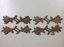 Vtg. Custom Casting Ceiling Fan Motor Side Ornaments or Light Reproduction Parts