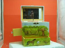 Enchantmints Horse Ranch Musical Jewelry Box Music ~ My Old Kentucky Home