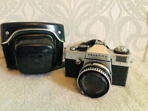 Praktica LB Camera with Carl Zeiss Jena Lens