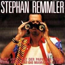 """Stephan Remmler Keine Angst Hat Der Papa Mi 7"""" Single Vinyl Schallplatte 21027"""
