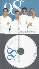 PROMO CD--MOTOWN 98 --BECAUSE OF YOU--1TR