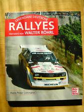 Legendäre deutsche Rallyes von Hans-Peter Lohmann (2014, Gebundene Ausgabe)