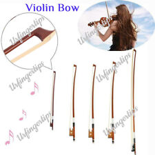 More details for 1/8 1/4 1/2 3/4 4/4 size violin cello bow handmade arbor horsehair bright sound