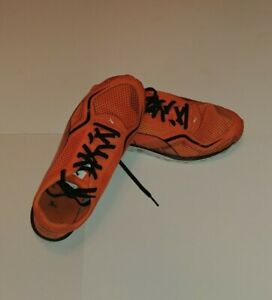 Puma Faas Mens Orange/Black Golf Shoes. Size 8.5 us