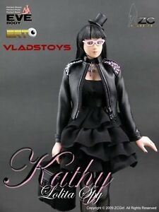 """ZC Girls CY Girl 1:6 Scale 12""""  Kathy Lolita Sexy hot female Spy"""