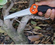 "Mini Pruning Pocket Saw 10.5"" Blade Folding Camping Emergency Wood Knife Kit BOB"